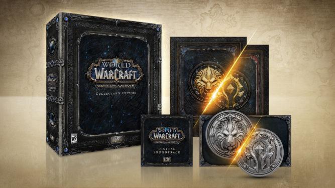 Znamy datę premiery i zawartość edycji kolekcjonerskiej World of Warcraft: Battle of Azeroth - obrazek 1