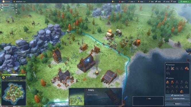 Northgard otrzyma nowy klan i rankingi w trybie multiplayer - obrazek 1