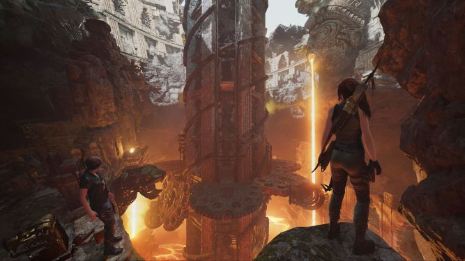 Shadow of Tom Cruises - Lara Croft's Beauty and Hot Lava at The Forge - image 1