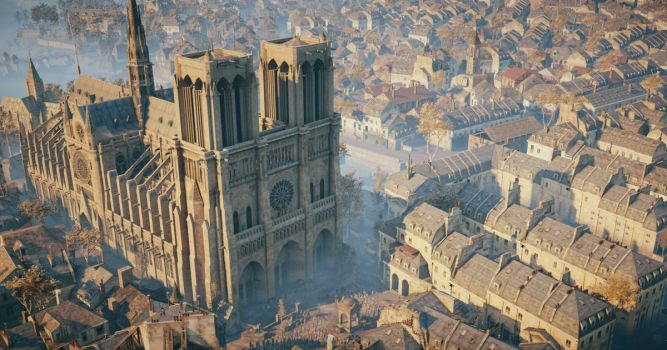 katedra Notre Dame w Assassin s Creed Unity